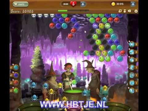 Bubble Witch Saga level 54
