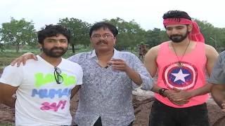 Aatadukundam Raa Movie Song Shoot Press Meet