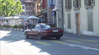 Amazing sound from modified Audi S8 (HD) videos