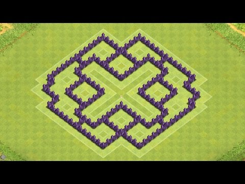 Strategy townhall level 7 base layout coc th7 defensive strategy