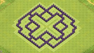 Clash Of Clans Town Hall 7 Defense (CoC TH7) BEST Farming