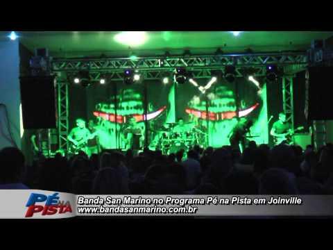 Banda San Marino no Programa Pé Na Pista 05 04 2014