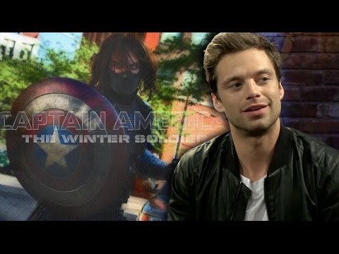 Sebastian Stan, the Winter Soldier, Discusses