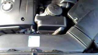 Шум двигателя N52B30 на автомобиле BMW 330 E93