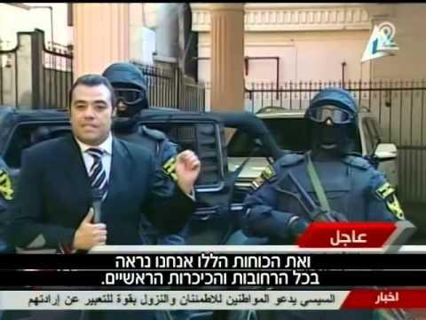 אהוד יערי   חדשות 2   משאל עם במצרים על החוקה החדשה   Egypt referendum on new constitution