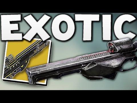 Destiny - NEW EXOTIC SNIPER