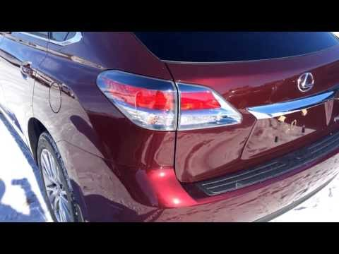 2014 Lexus RX 350 AWD in Red Technology Package Review