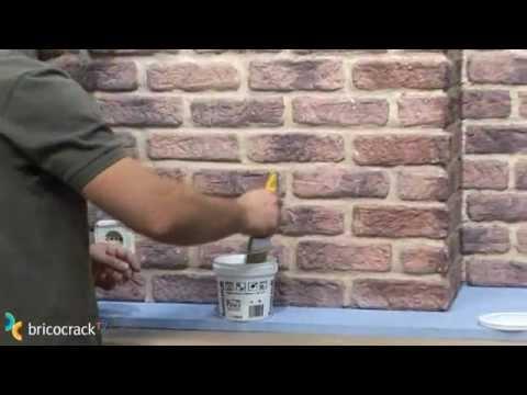 Instalar plaqueta decorativa bricocracktv youtube - Paneles decorativos para paredes leroy merlin ...