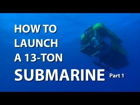 How to Launch a 13-Ton Submarine Part 1 | UnderH2O | PBS Digital Studios