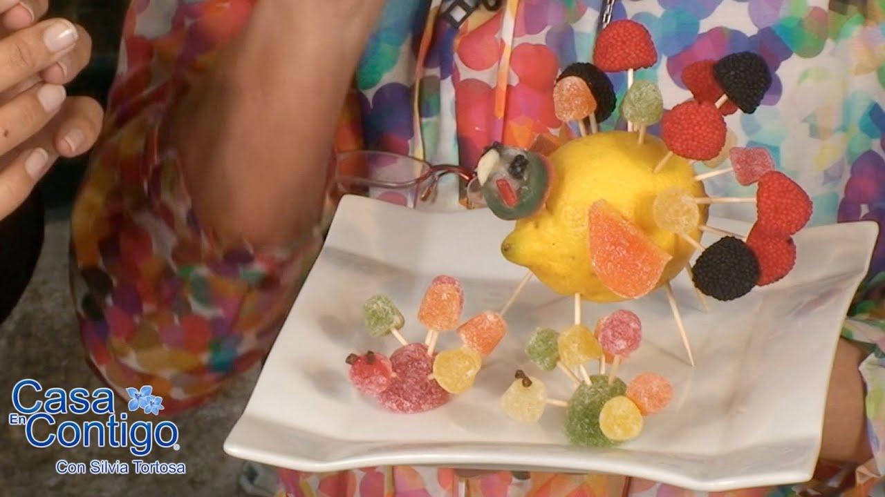 Manualidades Thanksgiving Chuches, Gominolas, Niños, Fiesta - YouTube