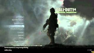 How To Play Call Of Duty 4 Pc NO KEY CODE