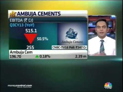 Ambuja Cements misses forecast, Q3 net down 45% to Rs 166cr