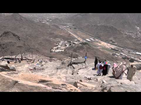 Return from Ghar-e-Hira jabl-e-noor on the mountain of Makkah 8 April 2013 in Saudi Arabia