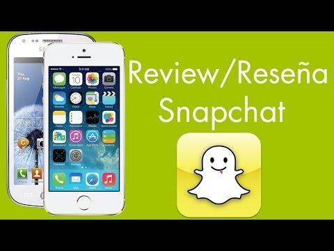 App Review / Reseña - ¿Que es Snapchat? - Redes Sociales - David Gonzalez