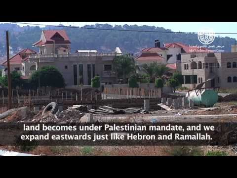 """فيلم """"الزحف الإسمنتي يطارد الأراضي الفلسطينية الخصبة والخضراء"""""""