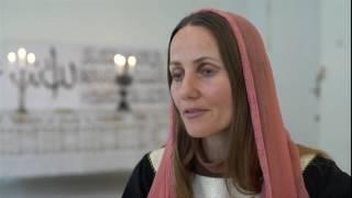أول امرأة تؤم المصليات في مسجد كوبنهاغن