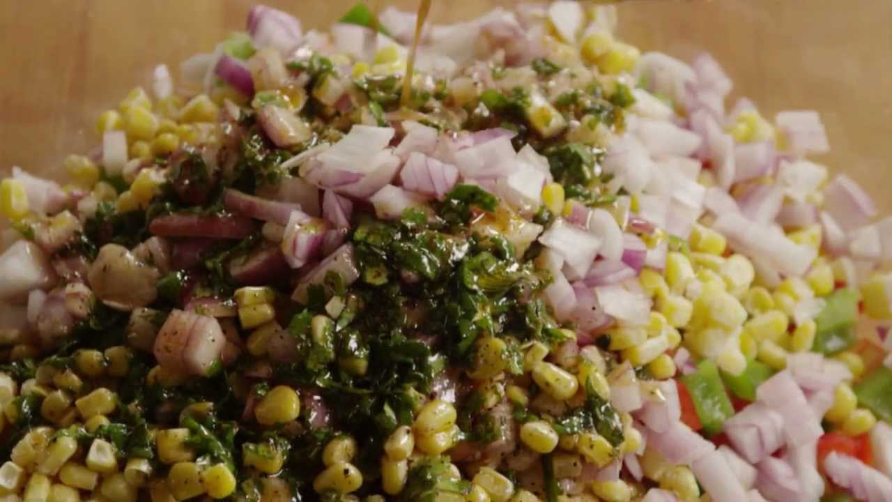 How to Make Mexican Bean Salad - YouTube