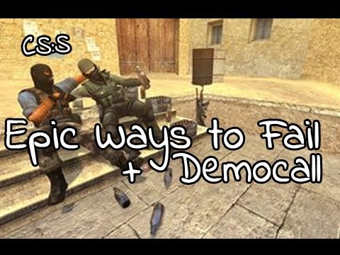 Counter-Strike: Source: Epic Ways to Fail #1