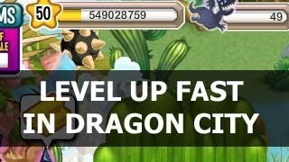 How To Level UP FAST In Dragon City Lots Of Experience