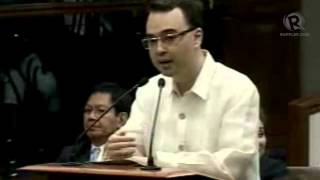Senators A. Cayetano and Enrile figure in ugly word war