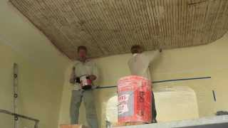 How To Plaster A Ceiling, Interior Plastering Techniques