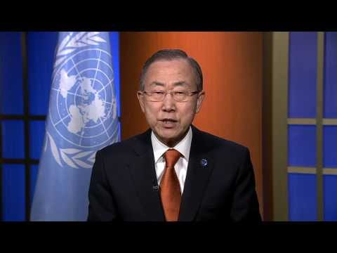 United Nations Secretary-General Ban Ki-Moon Video Message to ITU Connect Asia- Pacific Summit 2013
