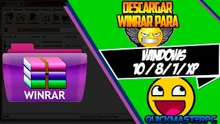 Como Descargar Winrar Para Windows 7 2013 [full] (new
