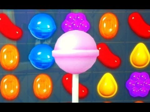 Candy Crush: CRAZY LOLLIPOP SLOWMO !! - YouTube
