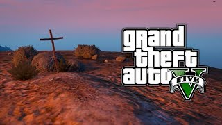 GTA 5: Unmarked Mystery Grave Easter Egg! Who's Inside