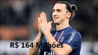 (Top 10)~''[Os Jogadores De Futebol Mais Ricos Do Mundo