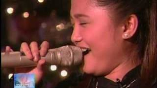Charice Pempengco On The Ellen DeGeneres Show (FULL