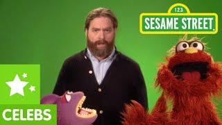 Sesame Street: Zach Galifianakis Be Nimble