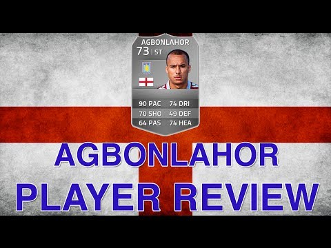 Fifa 14 FUT - Gabriel Agbonlahor 73 Review & In Game Stats - The Silver Bolt! Ultimate Team