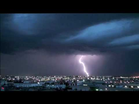Super Slow Motion Lightning Strike