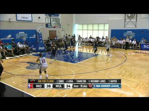 NBA Summer League: Indiana Pacers vs Miami Heat