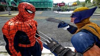 Spiderman VS Wolverine EPIC Spider-man