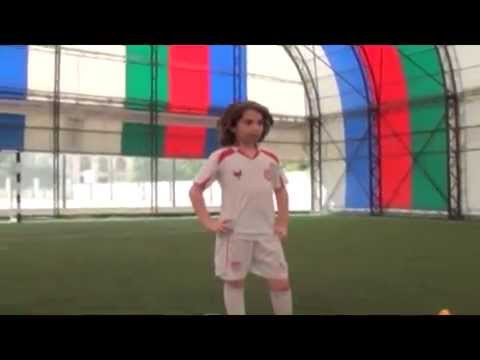 THE BEST FOOTBALL PLAYER ORKHAN ALIYEV 10 YEARS OLD - TRAINING IN BAKU, AZERBAIJAN - ANTALYA SPORT