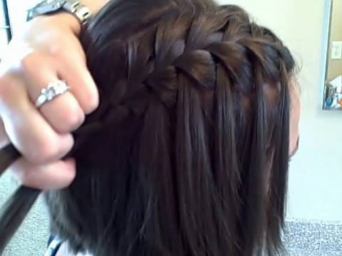 Waterfall Braid (Self) | Cute Girls Hairstyles