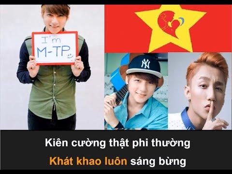 Tiến Lên Việt Nam Ơi Karaoke - Sơn Tùng MTP [Beat Chuẩn]