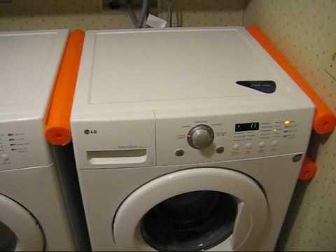 Simple Lg Washer Vibration Fix Youtube