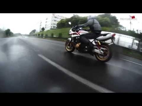 HONDA CB1300SB+MICHELIN PILOT ROAD 3 IN RAIN 雨天のミシュランパイロットロード3 バイク試乗レビュー