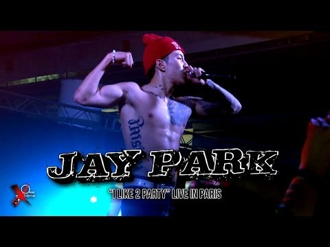JAY PARK in Paris - I Like 2 Party (live at Paris-Est Montreuil, October 26th 2013)