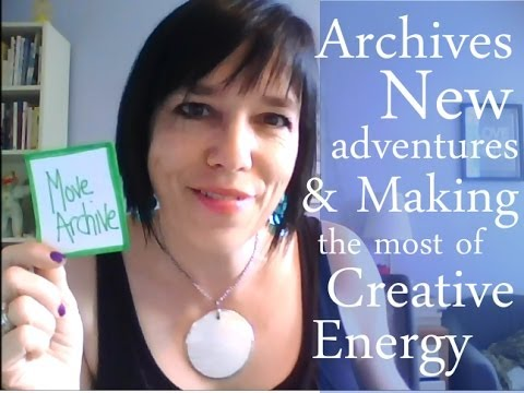 Archives, New Adventures & Making the Most of Creative Energy: BTS Jamie Ridler Studios 07 08