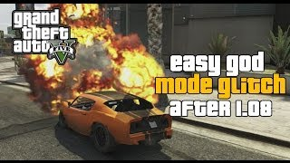 GTA 5 ONLINE : INVINCIBILITY/GOD MODE GLITCH (AFTER 1.09