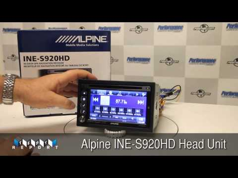 Alpine INE-S920HD Multimedia Receiver