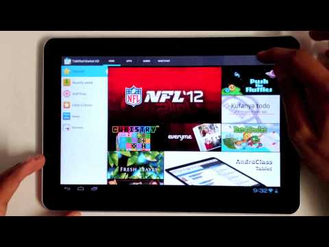 Tablified Market HD -- Finding The Best Android Tablet Apps