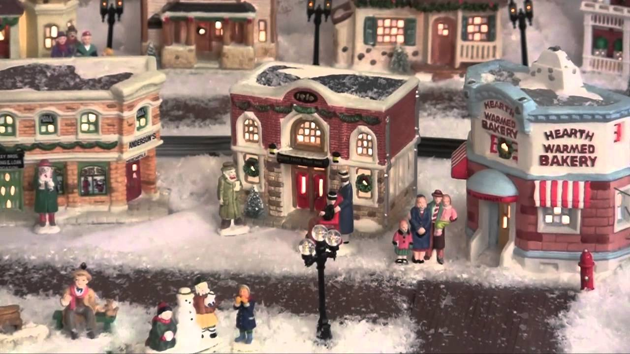 Fabulous It 39 S A Wonderful Life Village Display Youtube