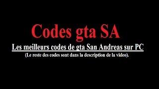Codes Gta San Andreas Sur Pc #1