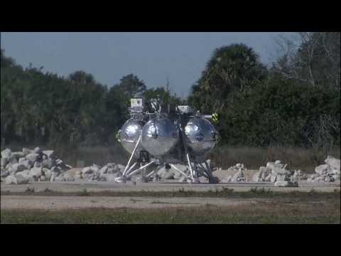 Morpheus Performs Perfect Free Flight Test | NASA Space Science HD