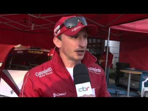 Evandro Carbonera - Antes da Largada - Rally de Erechim 2013